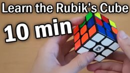 How To Solve A Rubik's Cube – FAST